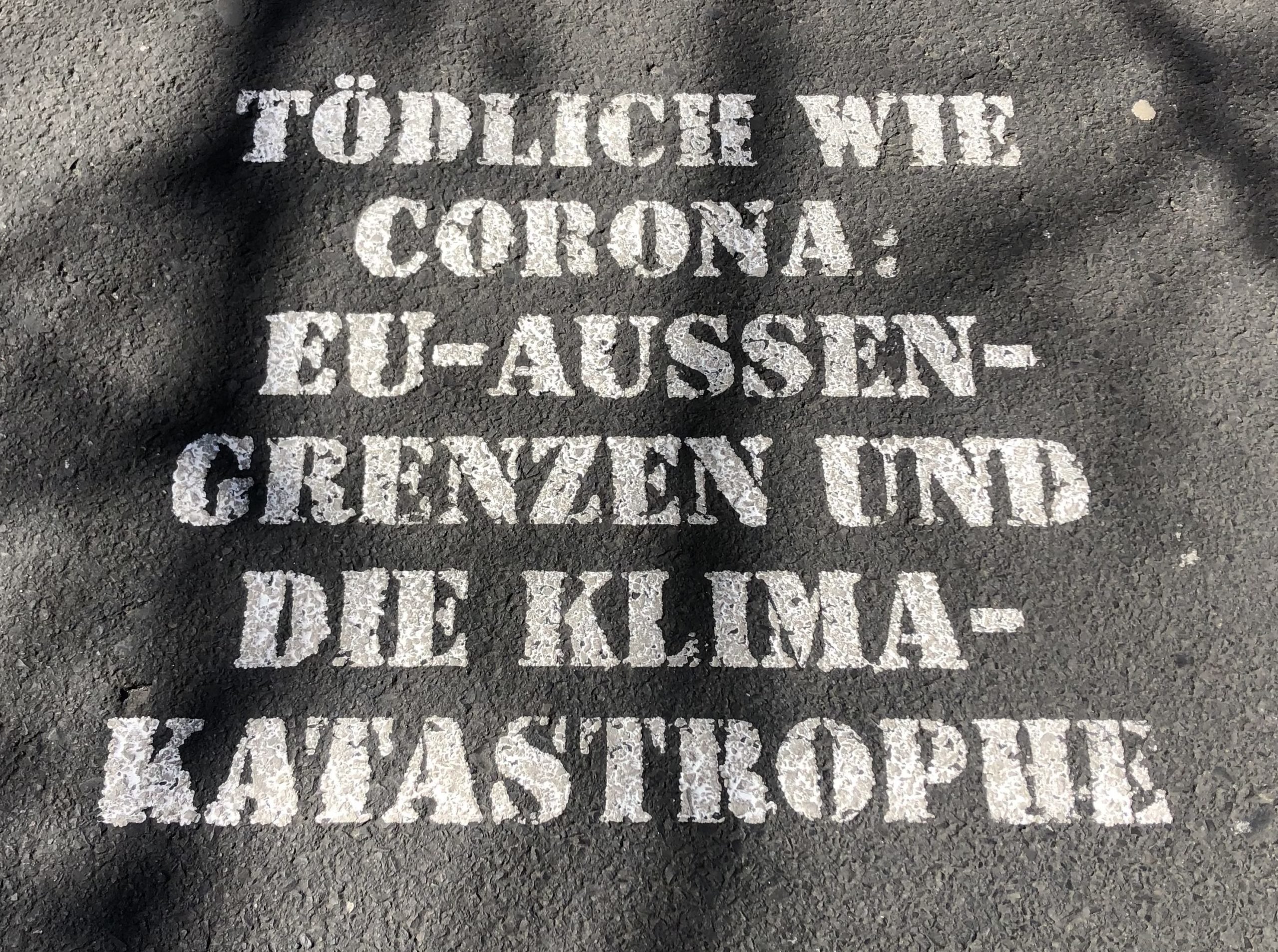 Deadly as Corona: EU border and climate catastrophe
