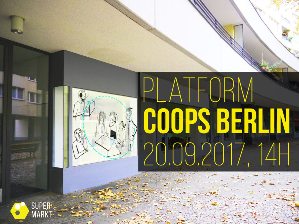 Arts und commons - Platform COOPS Berlin, 2017